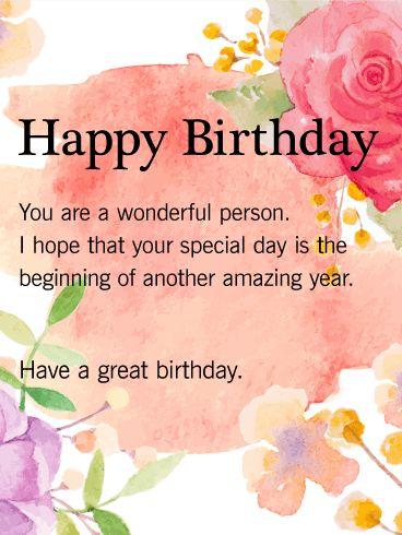 Wish Happy Birthday Images