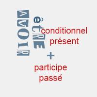 conditionnel passé, conjugaison, FLE, le FLE en un 'clic', hypothèses