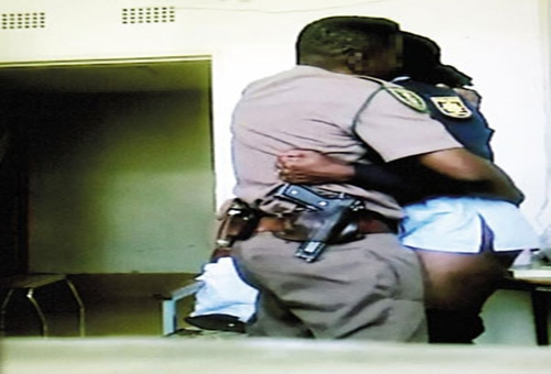 south african police officers having sex