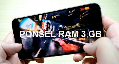 HP Android RAM 3 GB Kualitas Terbaik