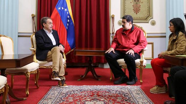 Zapatero jefe de logística de Maduro.