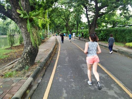 バンコク旅ラン☆TABI RUN IN BANGKOK ルンピニー公園