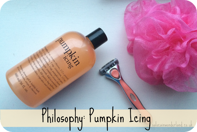 philosophy pumpkin icing review