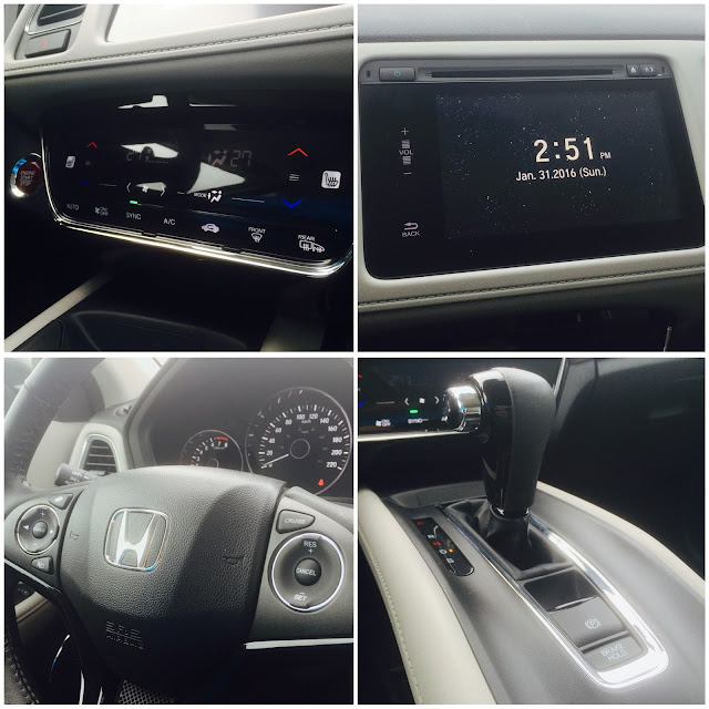 2016 Honda HR-V EX-L interior collage