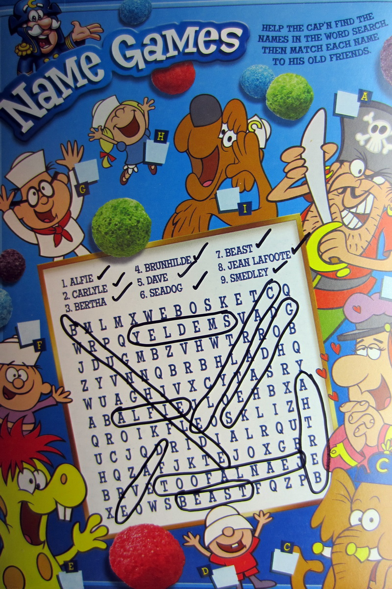 Month Of Cereal 30 Days Of Suggested Servings And Essential Nutrients Day 2 Anal Retentive Pirates Let me preface this article by saying that i am a fan of cap'n crunch berries: month of cereal 30 days of suggested servings and essential nutrients