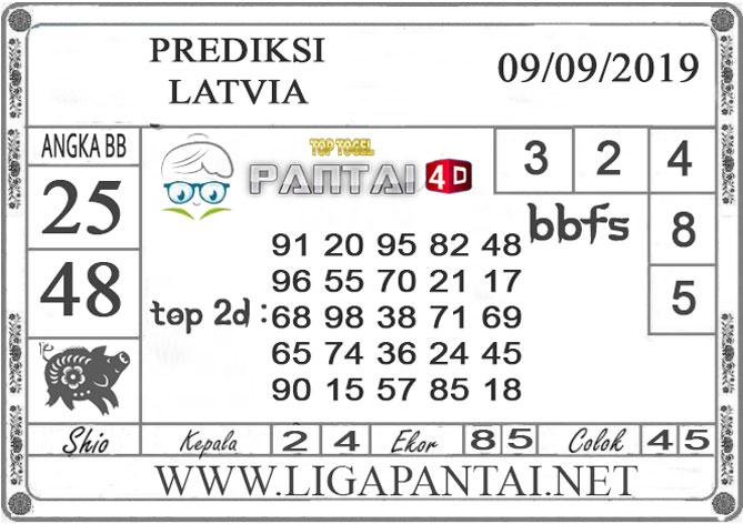 "PREDIKSI TOGEL ""LATVIA"" PANTAI4D 10 SEPTEMBER 2019"