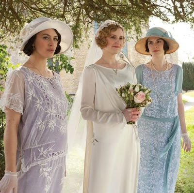 Downton Abbey Edith Wedding on 2014 Calendar