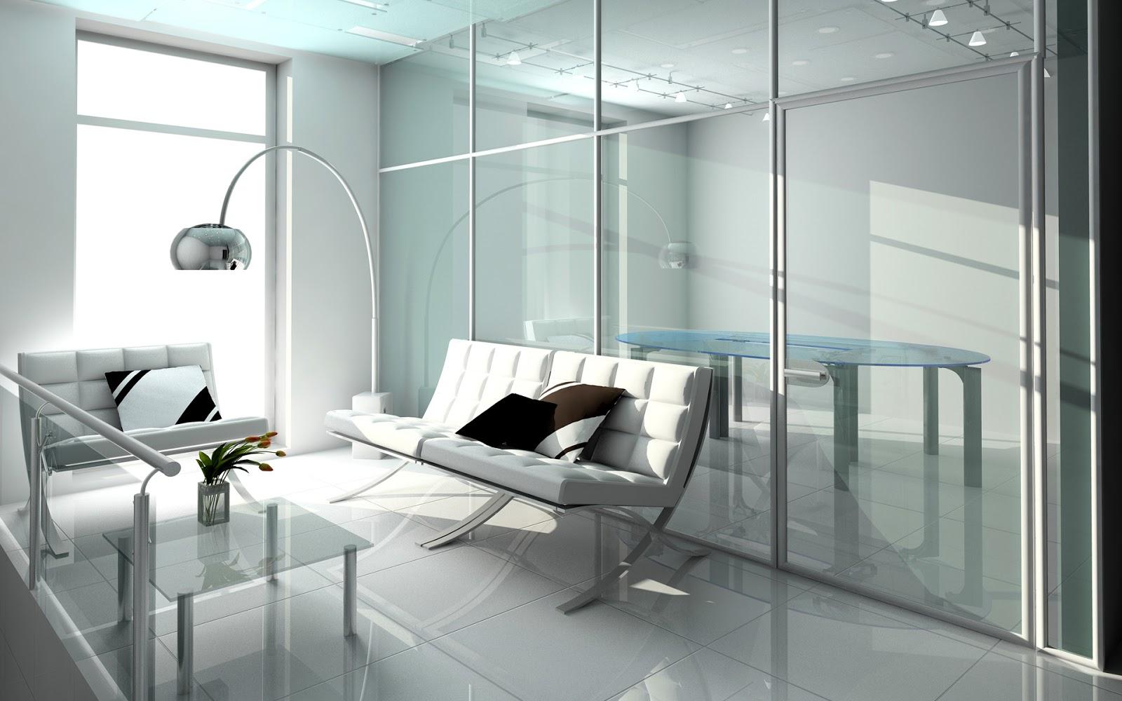 "medical interior wallpaper: ""Simplicity Is The Keynote Of All True Elegance."" : Living"