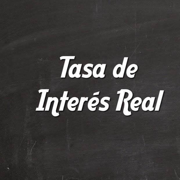Tasa de Interés Real