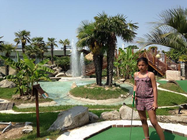 Freizeittip: Minigolf in Jesolo