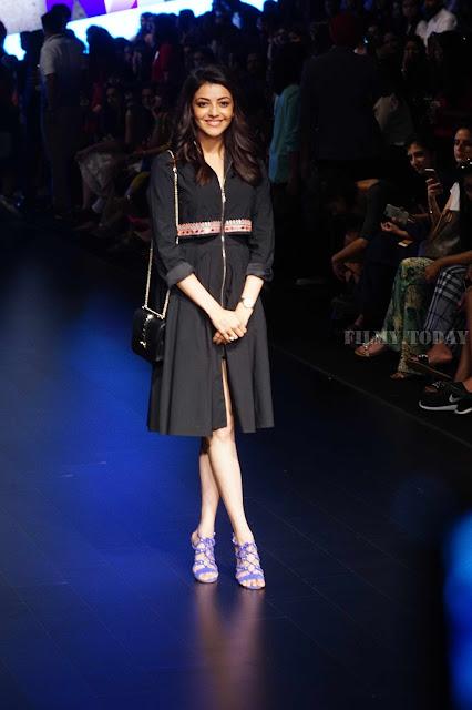 Kajal Agarwal Lakme Fashion Week Hot Picture