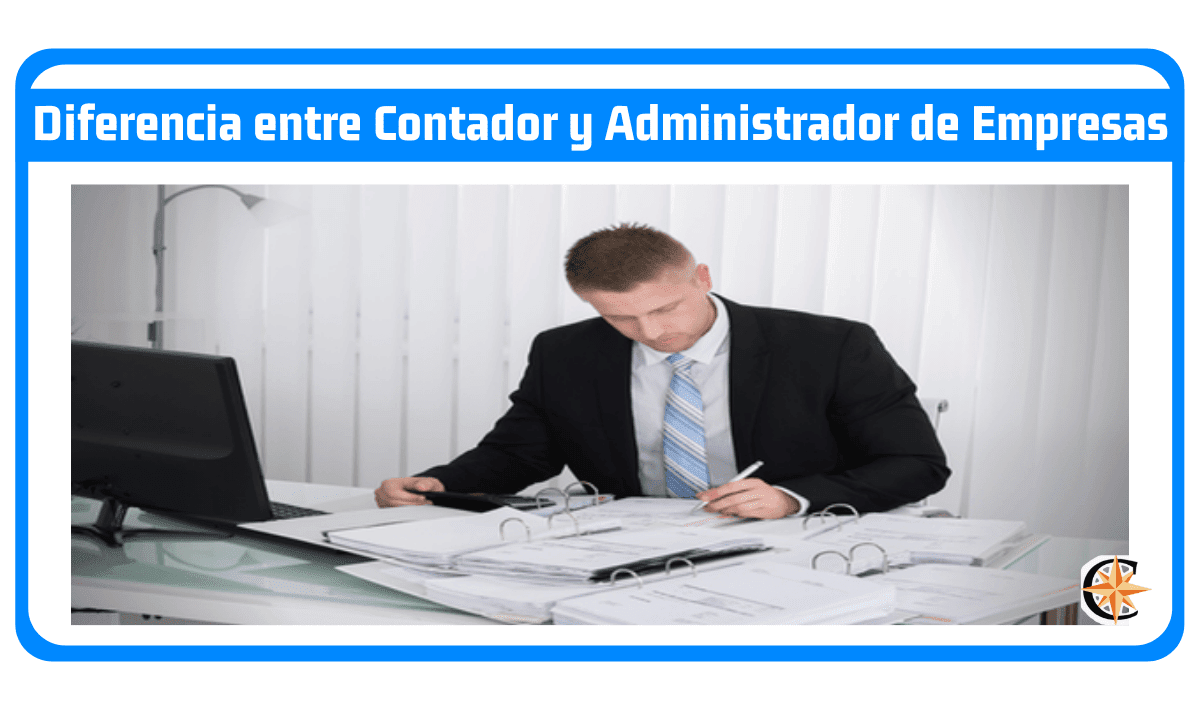 Diferencia entre contador y administrador de empresas