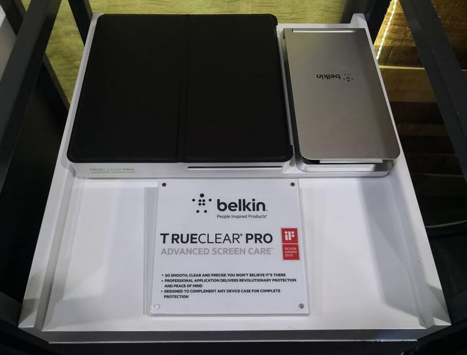 Belkin TrueClear Pro 2.0 Advanced Screen Care