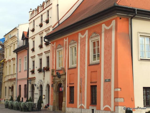 Gamla stan i Krakow - ulica Kanonice
