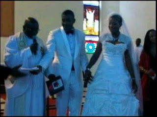 PICTURES Of  Chidi Mokeme's White Wedding. 3