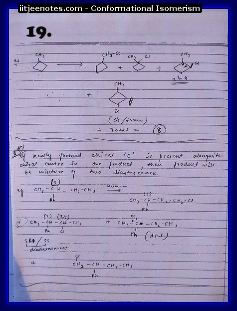 Conformational Isomerism Notes8