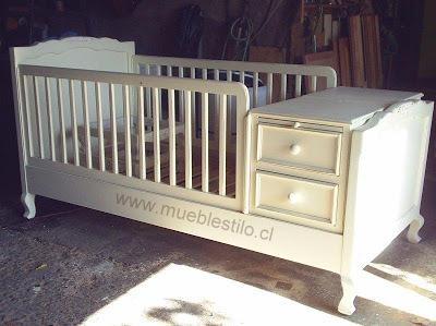 Muebles de bebe cuna de bebe provenzal for Muebles mi cuna