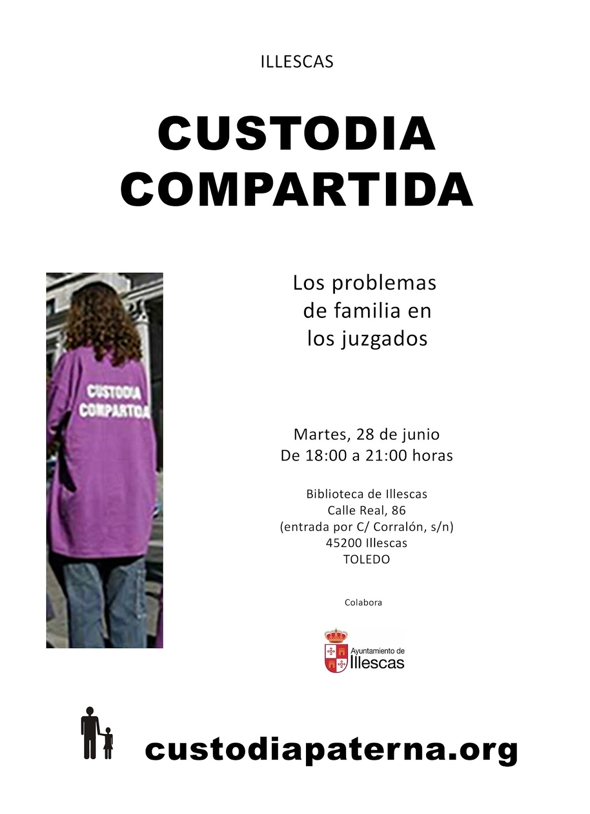 Primera jornada por los derechos de los menores a la custodia compartida en Illescas ILLESCAS-A3_converted