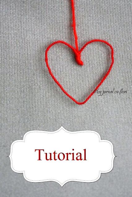 tutorial decoratiune inima de ziua indragostitilor