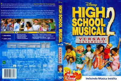 Filme High School Musical 2 DVD Capa