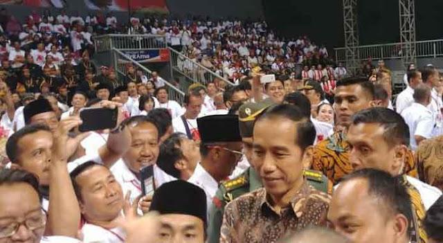Jokowi: Kampanye Urusan Projo, Menteri Fokus Kerja