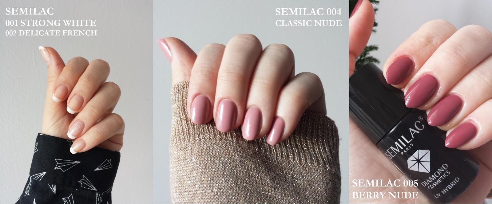 Marie Velte Moj Domowy Manicure Kolory Semilac