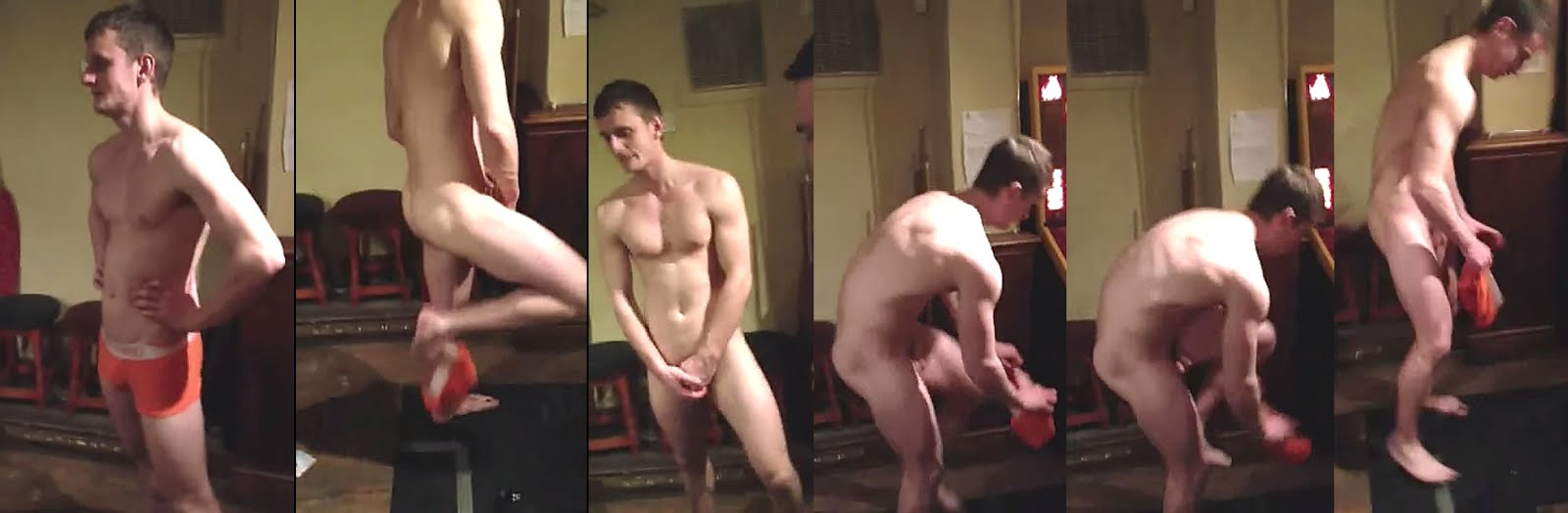 boy stripping