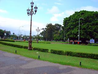 Praça ao Lado do MNBA, na Recoleta, Buenos Aires
