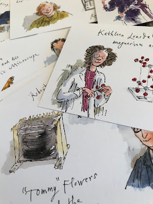 quentin blake science museum artwork