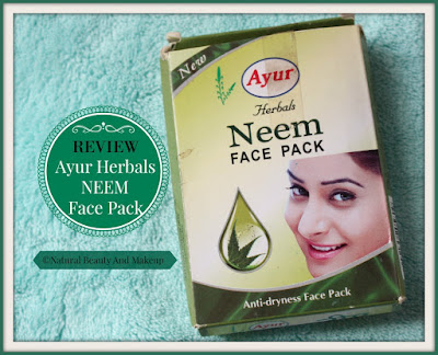 Ayur Herbals Neem Anti-dryness Face pack Review