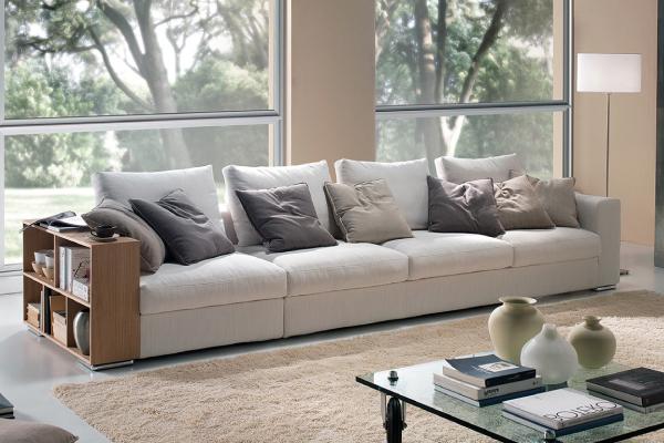 Vama divani un prodotto fatto a mano e made in italy for Divano 4 metri