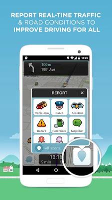 Waze ( GPS, Peta dan Lalu lintas)  v3.9.9.0 apk For Android