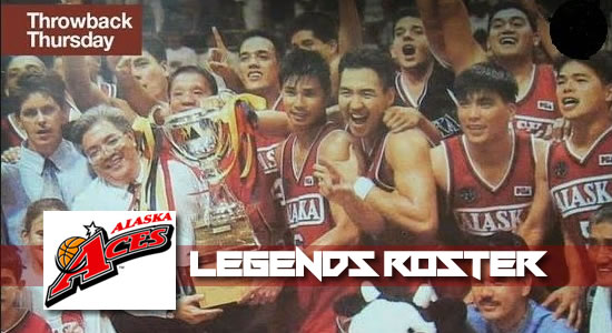 ROSTER LIST: Alaska official Legends Lineup vs San Miguel
