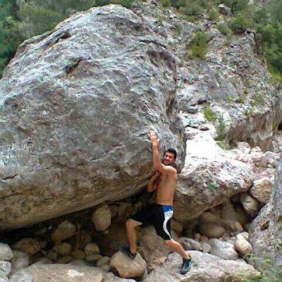 Eixecacódols, haciendo escuela, Zorrilla, pedrolo, piedra, roca