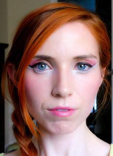 Natural warrior glam makeup look