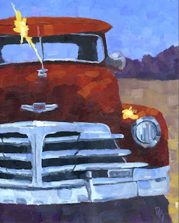 painting automotive car classic chevy chevrolet 1948