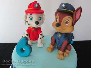 Chase and Marshall paw patrol