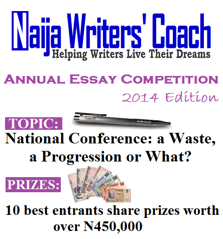 2013 Naija Writers' Coach Annual Essay Competition