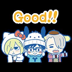 ユーリ!!! on ICE×サンリオキャラクターズ