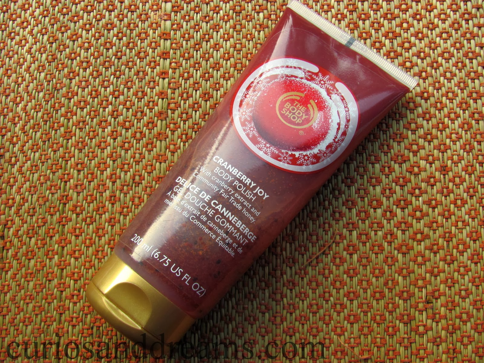the body shop cranberry joy body polish, the body shop cranberry joy body polish review