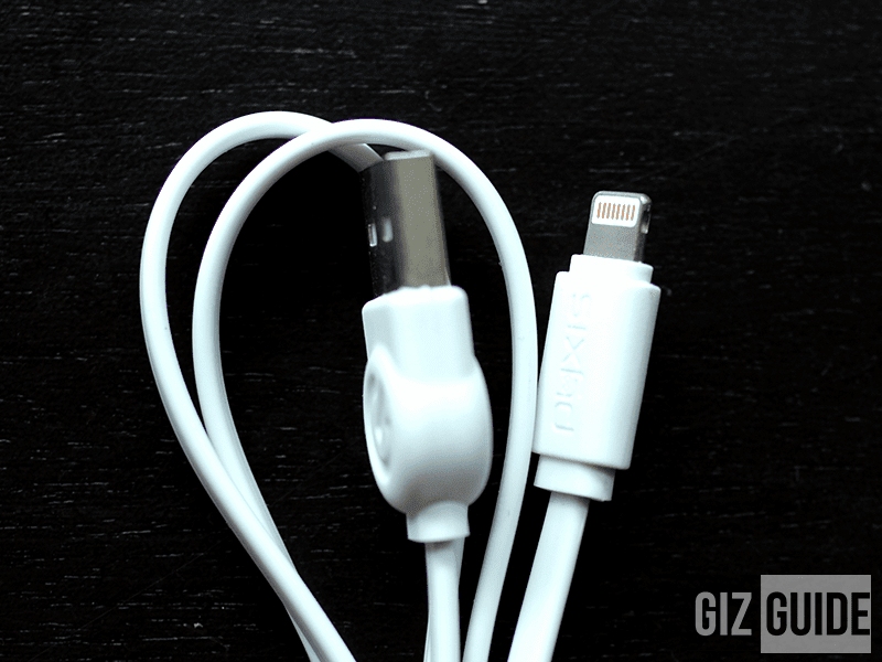 USB to lighting cable - PHP 149