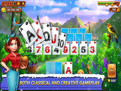 SOLITAIRE TRIPEAKS: FARM AND FAMILY APK FOR ANDROID