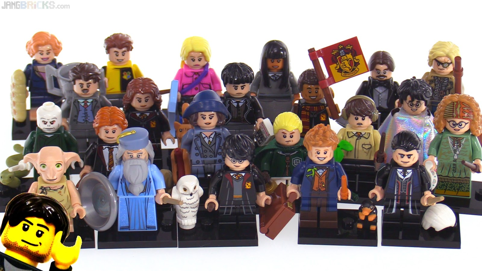 LEGO Harry Potter   Fantastic Beasts collectible minifigure series     LEGO Harry Potter   Fantastic Beasts collectible minifigure series videos