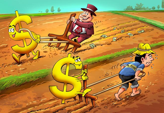 người giàu không làm việc vì tiền