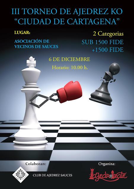 "III Torneo KO Ciudad de Cartagena «6 Diciembre 2017» <br /><img border=""0"" src=""https://3.bp.blogspot.com/-y_aaU0FTncM/V0APF_0MnxI/AAAAAAAAsi8/QfB3r4uk_BAcFSYADUEQAk_lwedJf-ujACKgB/s1600/recomendado.png"" />"