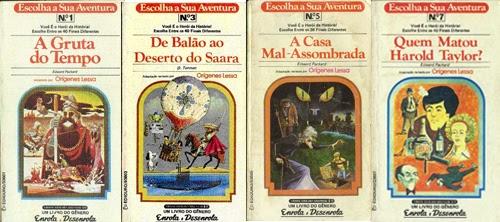 MÃEGEEK: Livro ou Jogo? Livros-jogos que você decide o final