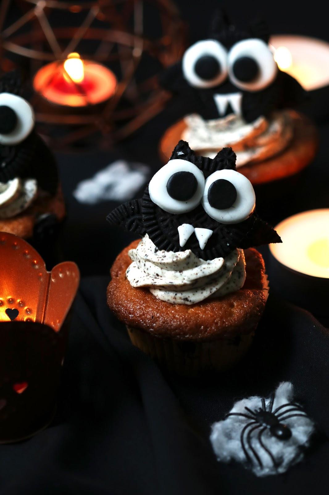 Recette Halloween : cupcakes aux oréos