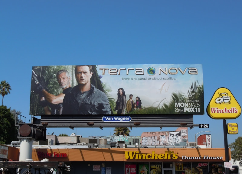 Terra Nova TV billboard