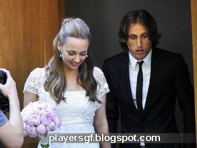 Luka Modric Footballer Girlfriend