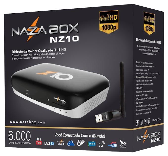 NAZABOX NZ10 NOVA ATUALIZAÇÃO V2.41 -29/05/2018